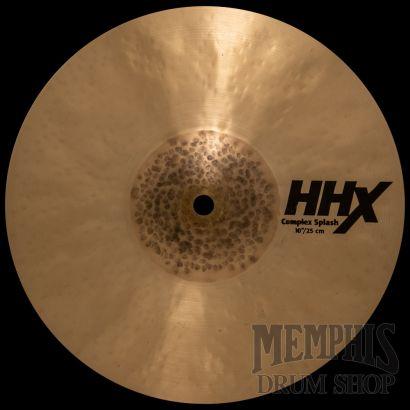 "11005XN Sabian HHX Series 10/"" Splash Cymbal"