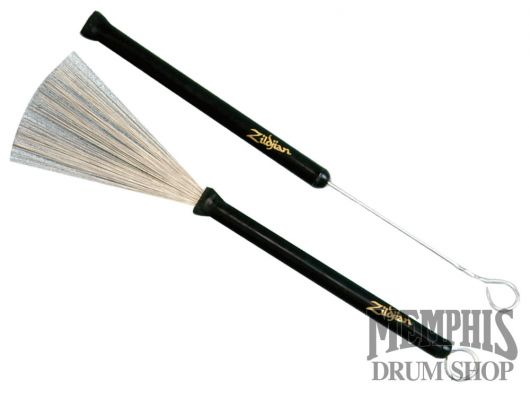 Zildjian ZSDWBZB1 Professional Wire Brush Retractable