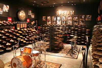 Memphis Drum Shop Cymbal Vault